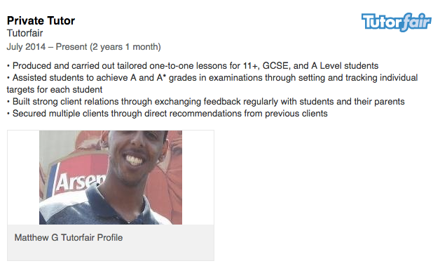 earn money by sharing your tutor profile