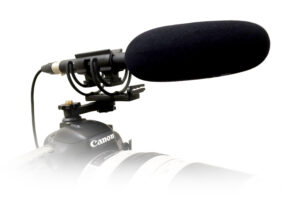 Microphone on a camera