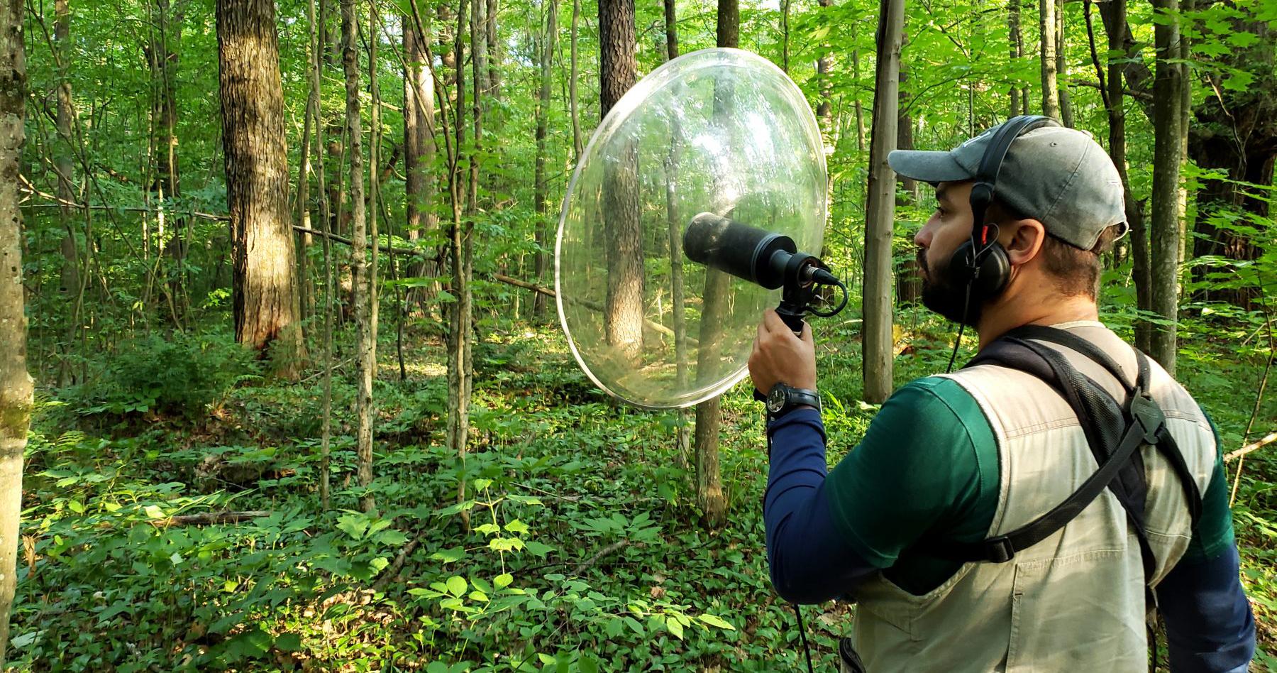 Parabola recording
