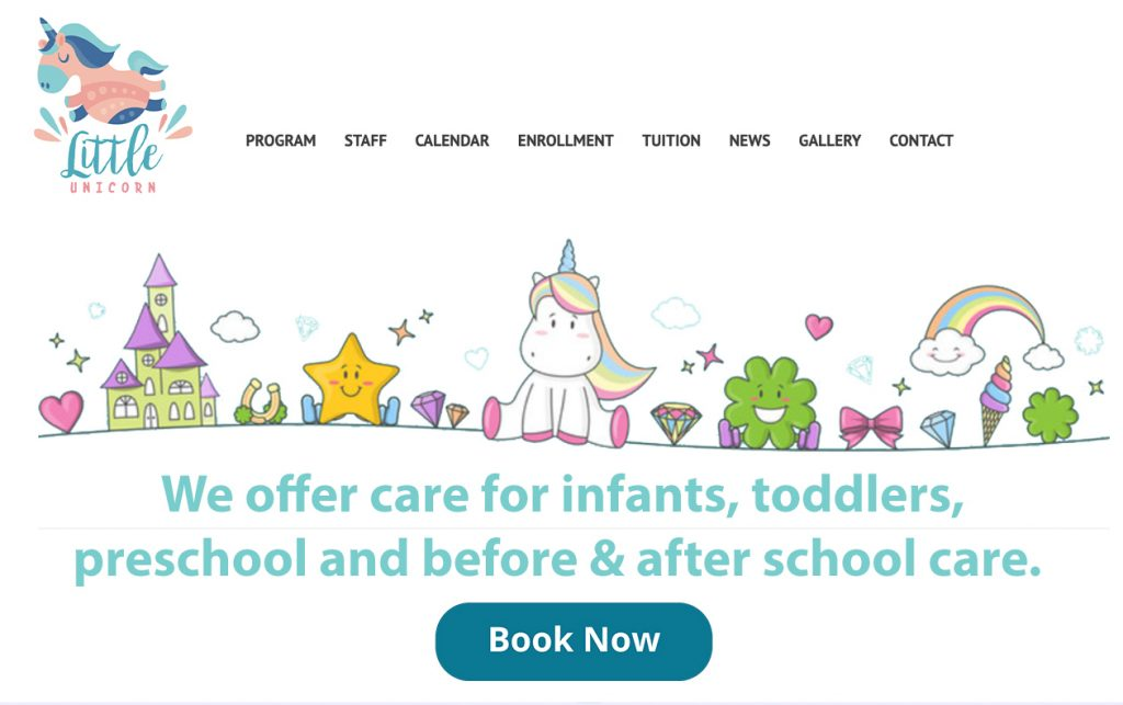 Book Now Option from website