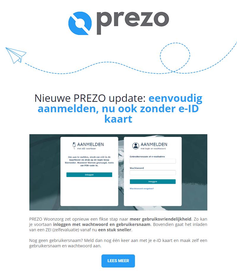 Maart 2020 - Prezo Woonzorg bij Ocura: minder verloop, meer werkvreugde