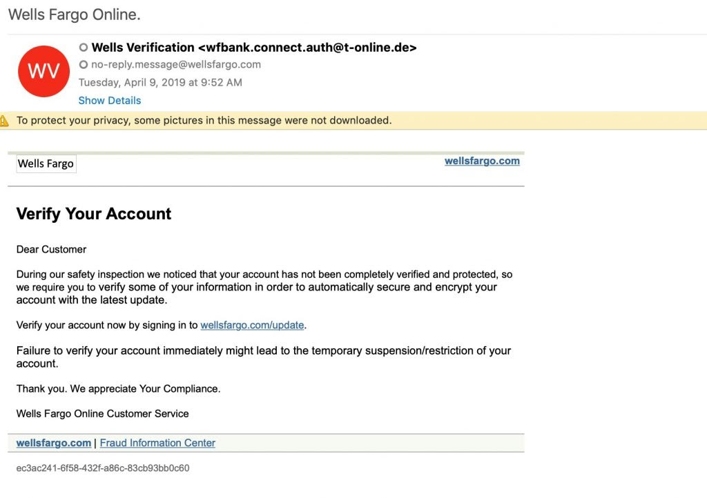 Anatomy of a Phishing Email | Vade Secure