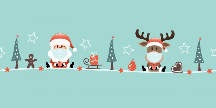 Socially distanced Christmas activities for kids
