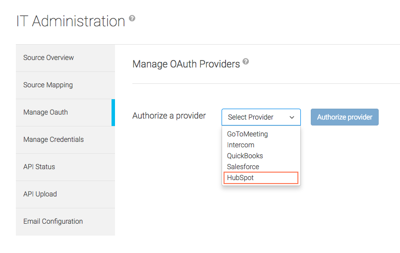 Natero: HubSpot OAuth Authorization