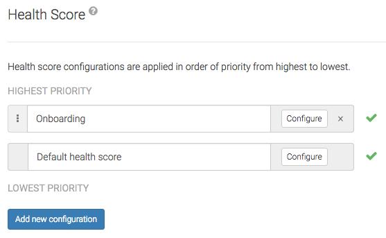 Multiple Health Scores