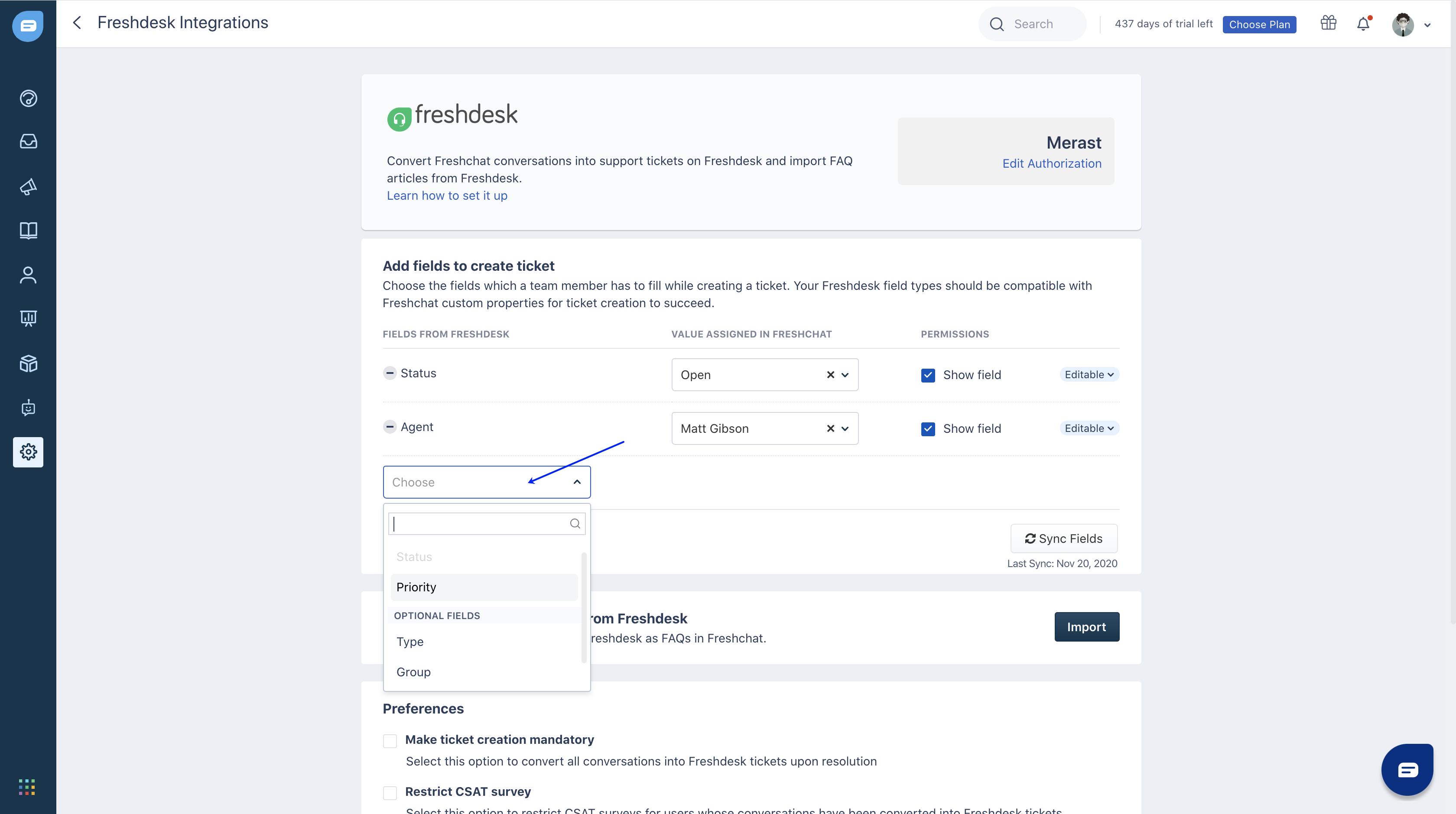 Integrate Freshdesk Support Desk with Freshdesk Messaging ...