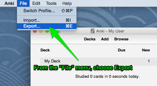 Can I use my existing Anki decks with AnkiApp? : AnkiApp Support