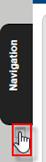 screenshot of highlighted arrow under the Navigation block