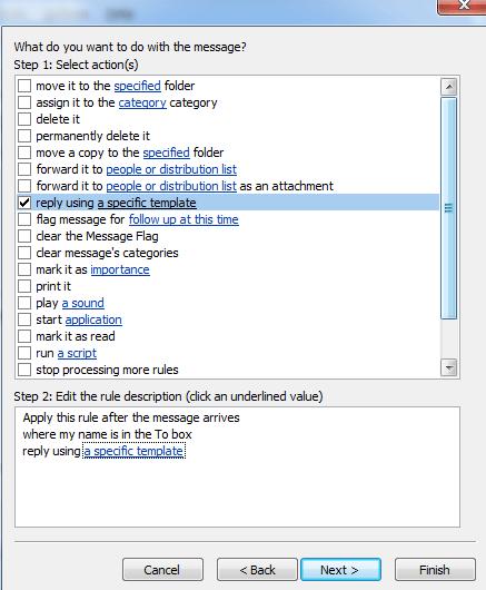 automatic templates