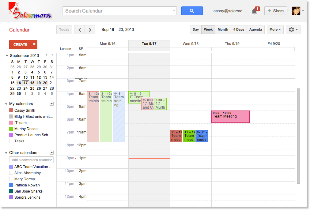 Calendar Basics - Scheduling, invitations, attachments, and