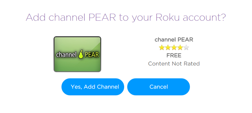 how to find private channels on roku