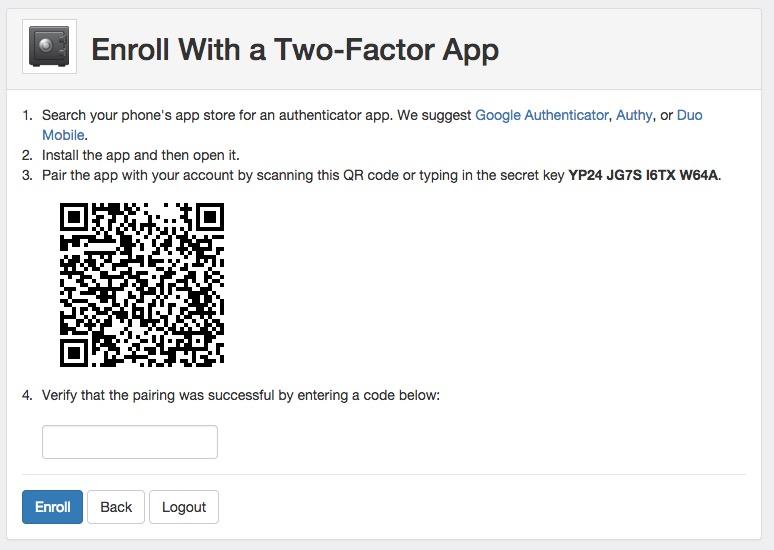 Two Factor Authentication RiskAnalytics Support