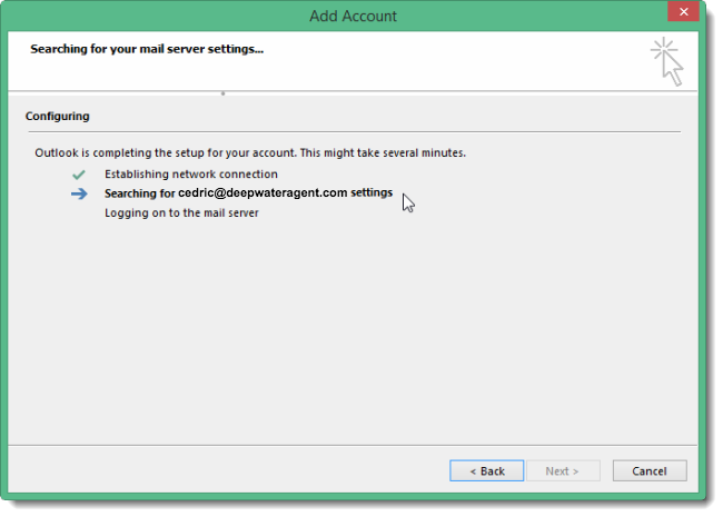 Add Your Gmail Account to Outlook 2013 : iHOUSEweb Support