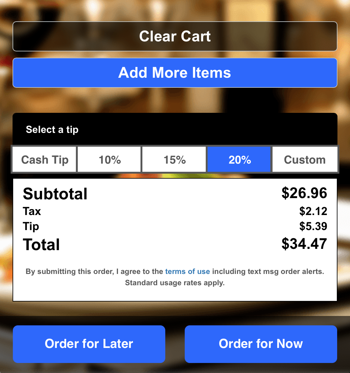 How to accept tips with online payments : 4 Leaf Labs Support