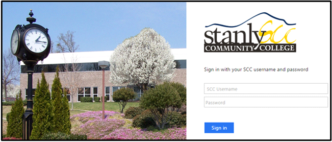 Stanly sign in page screenshot