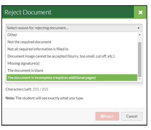Document Review - Missing Pages :