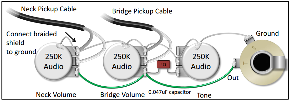 Wiring Diagram For Single Pickup Volume Tone from s3.amazonaws.com