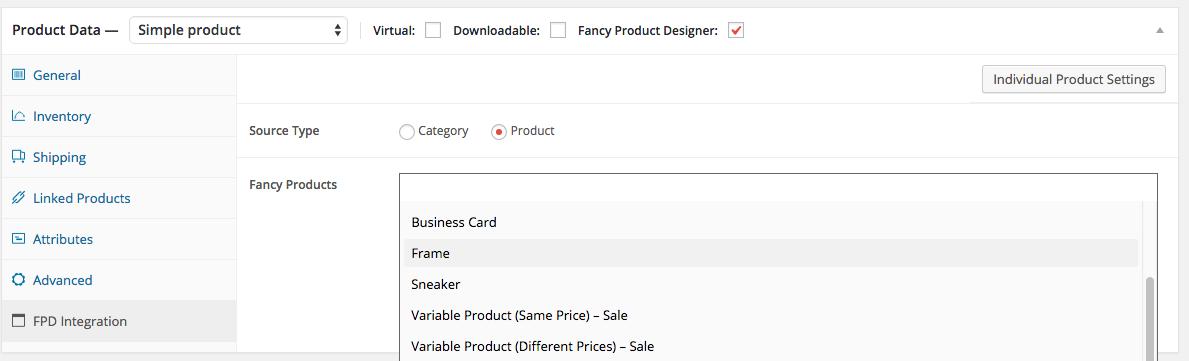 Quick Setup for WooCommerce & WordPress : Fancy Product Designer