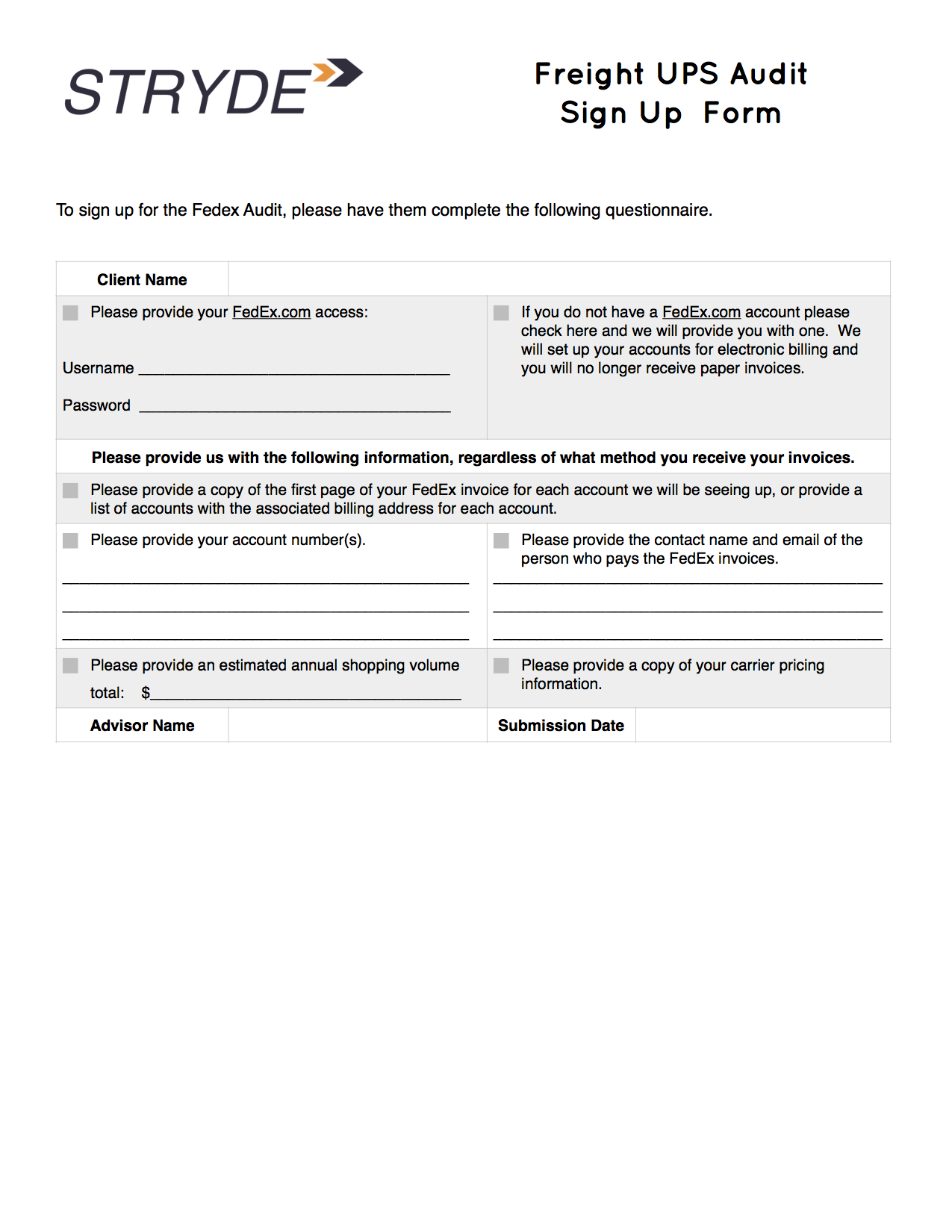 Stryde Freight FedEx Audit Questionaire.png