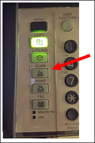 image of Toshiba Scan button