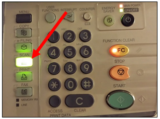 image of printer controls