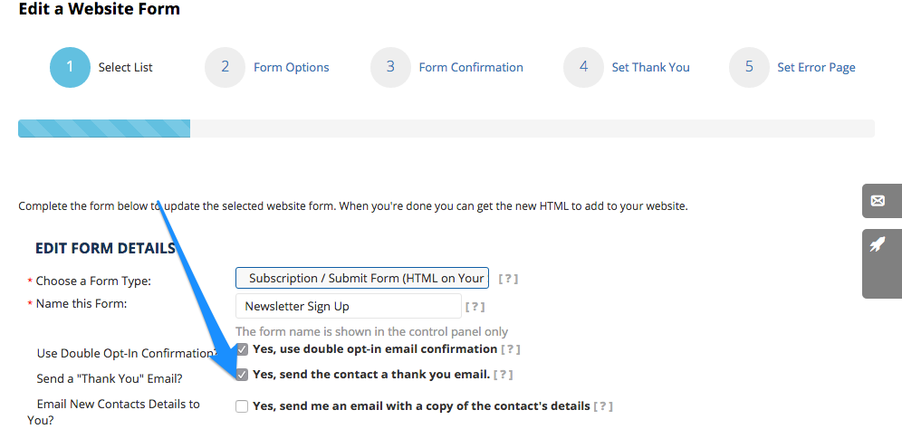 can i add my custom fields to my subscription form s thank you page