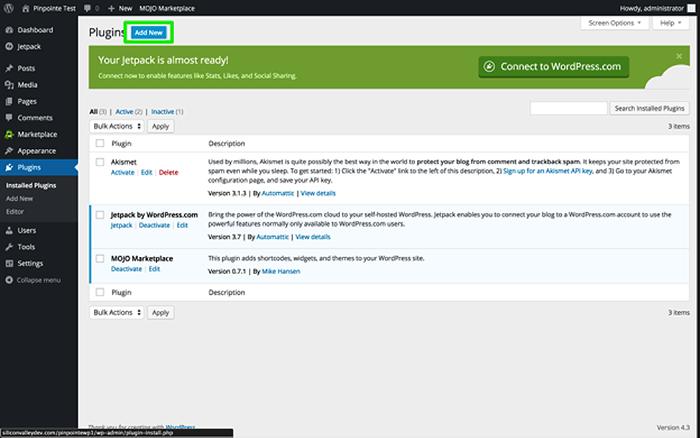 Wordpress Plugin Installation Instructions Pinpointe Support