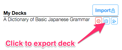 Can I export my flashcards from AnkiApp? : AnkiApp Support