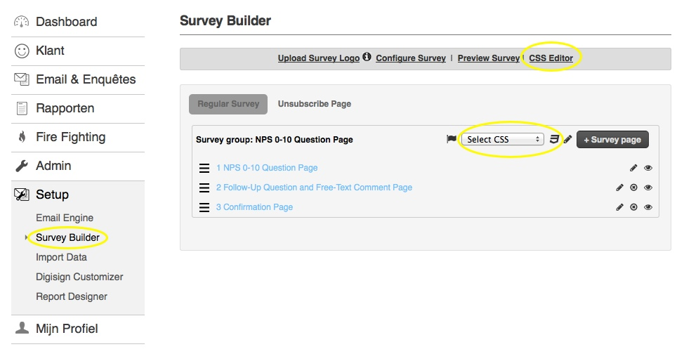 Customise Your Survey Layout With Css : Helpdesk