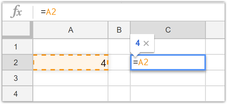 Relative and Absolute References in Google Sheets and Excel