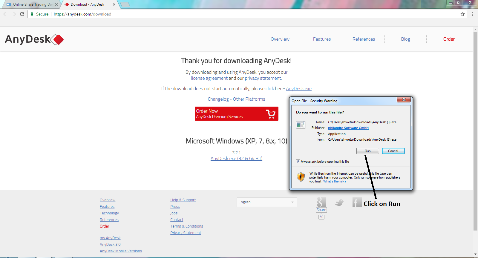 download anydesk for windows 10 64 bit free