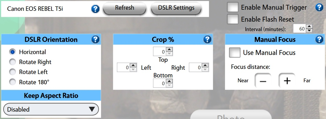 How to Guides: Canon DSLR Settings for Photo Booth Upload