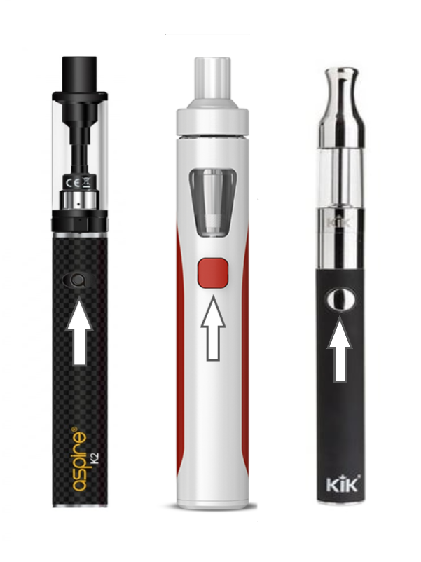 How do I turn on/turn off my e-cigarette? : The Electric