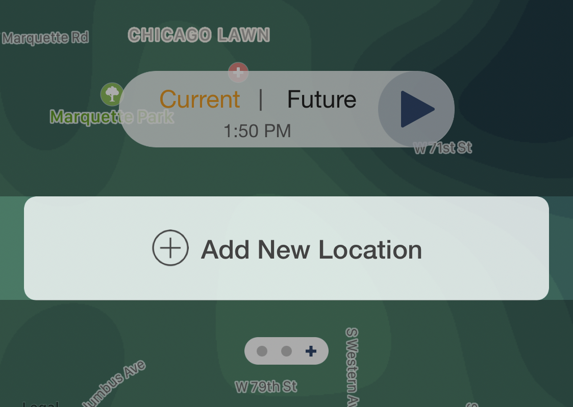 Manage Saved Locations - iOS : Storm Shield APP - Support on map columbus, map bangkok, map ireland, map berlin, map edinburgh, map austin, map mobile, map singapore, map taipei, map central, map amsterdam, map sydney, map france, map buenos aires, map valencia, map spain, map tokyo, map nashville, map venice, map victoria,