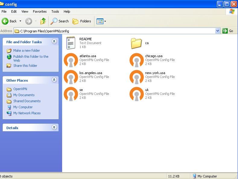 Easy-Hide-IP: OpenVPN Installation Guide for Windows XP
