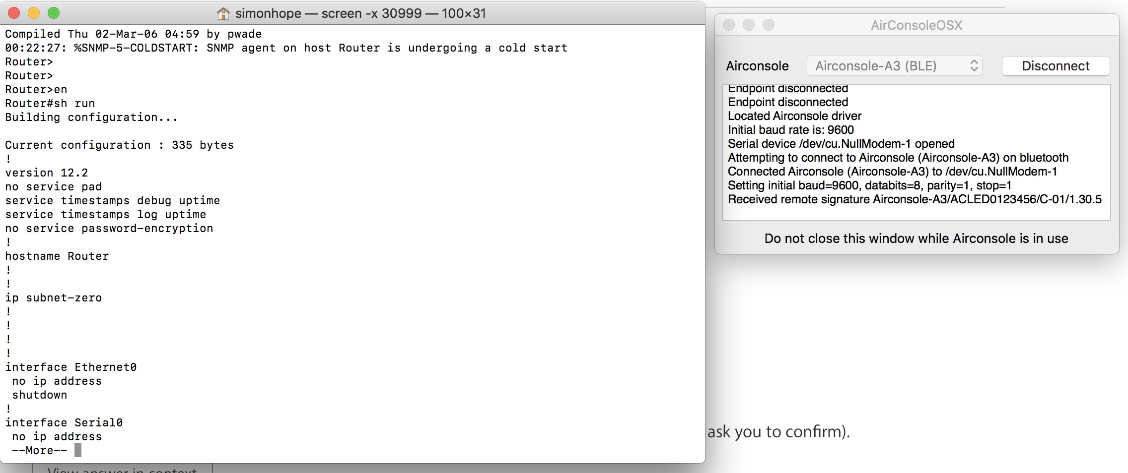 Resource Busy error with Screen in OSX - Troubleshooting a
