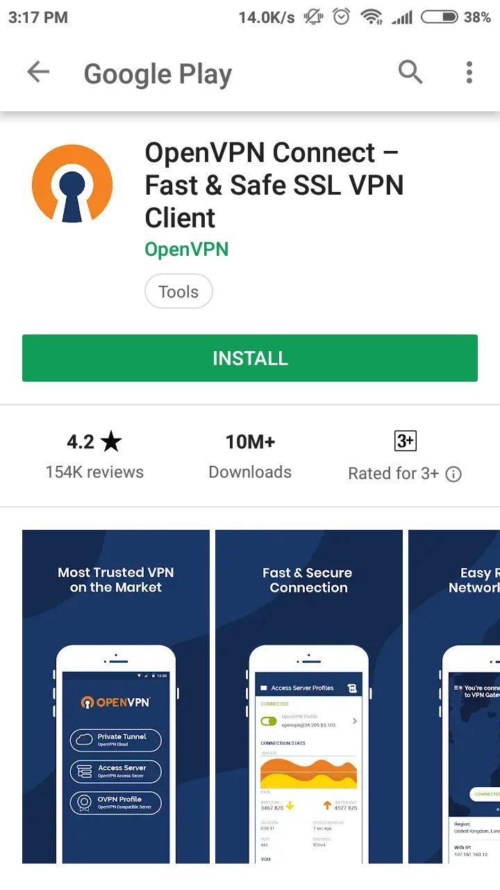 Easy-Hide-IP: Android - OpenVPN Connect Manual Configuration
