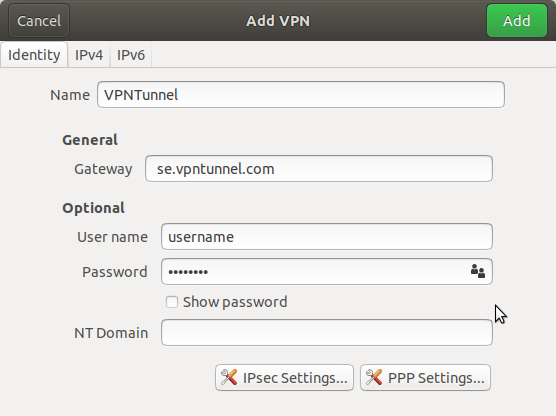 VPNTunnel: L2TP Installation Guide for Ubuntu 18 04 : VPNTunnel