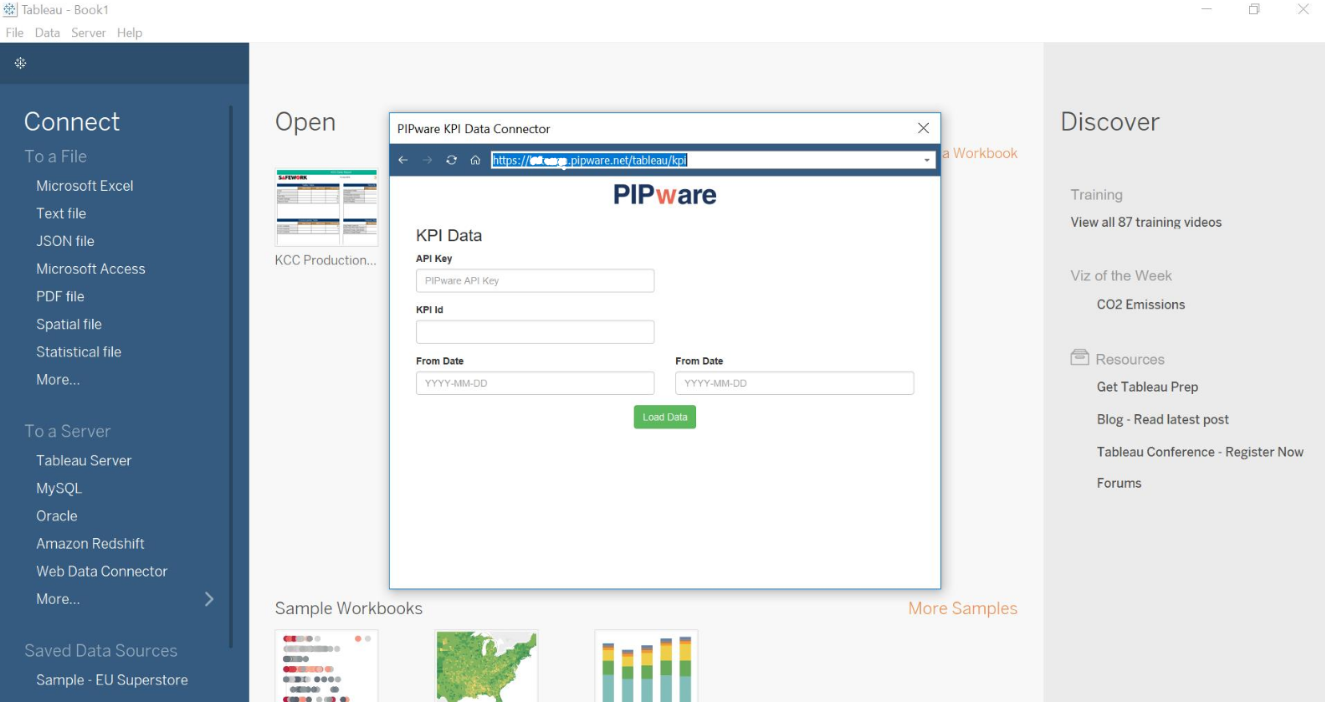 Data How Do I Connect Pipware Data To Tableau And Update Data Helpdesk