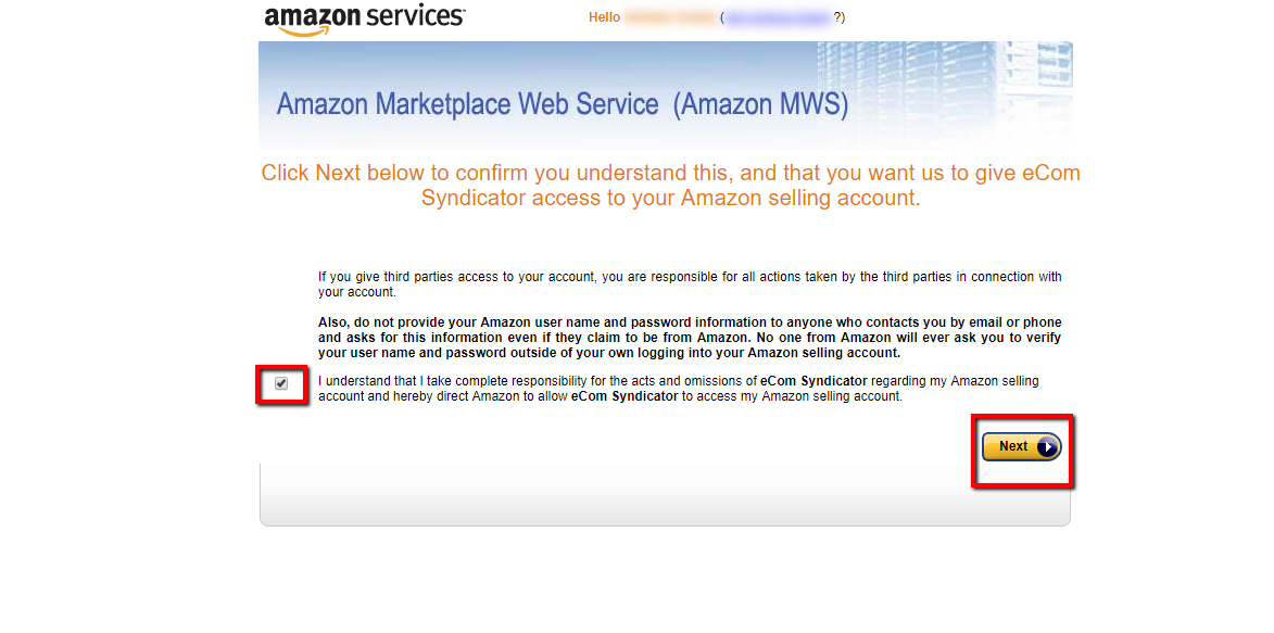 How to Get Your Amazon Keys for eCom Syndicator : Sku Grid