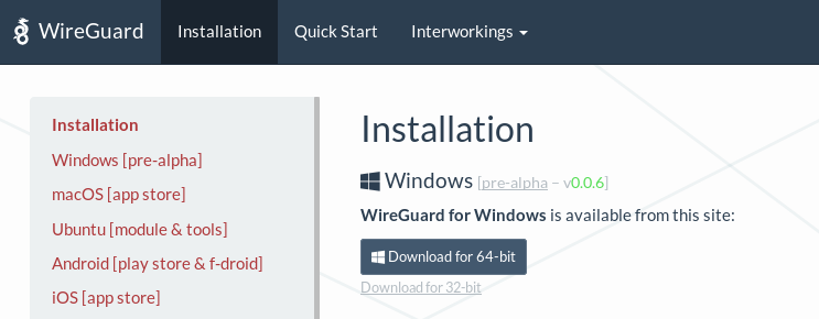 Anonine: WireGuard Installation Guide for Windows 10 : Anonine