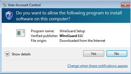 Anonine: WireGuard Installation Guide for Windows 10 : Anonine