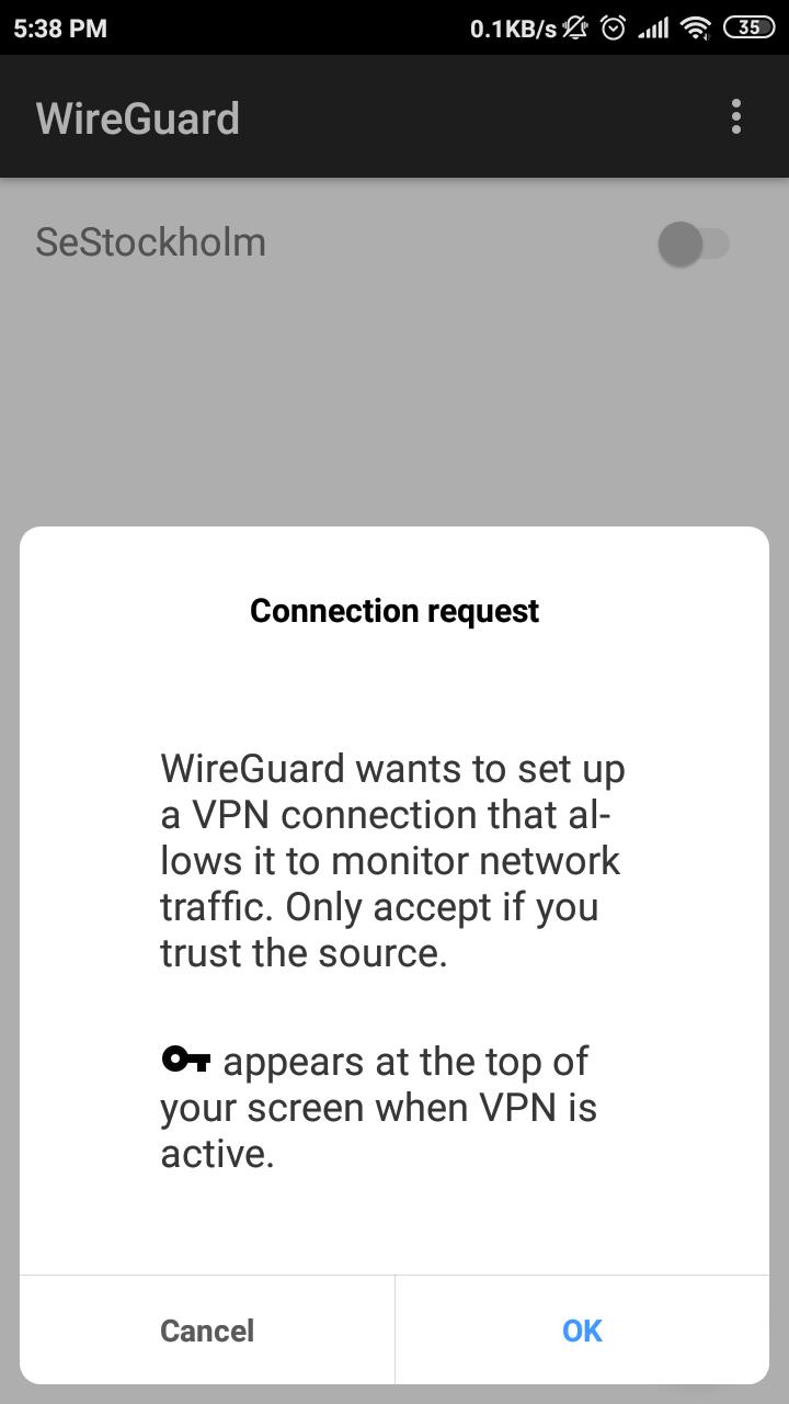 Wireguard Server Setup