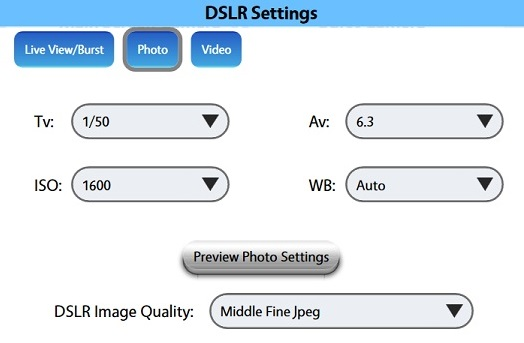 Camera Terminology and Recommended Settings : LA Photo Party