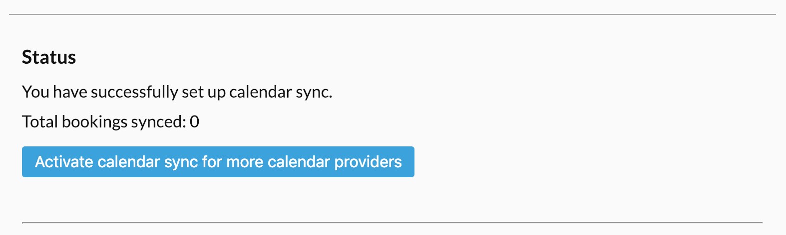 How to add additional calendars to your sync