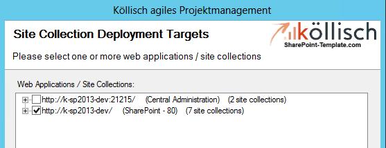 Team Collaboration Webapplication wählen