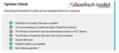 Windows Dienste prüfen