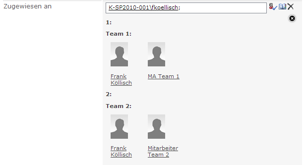 Teamadministration in SharePoint