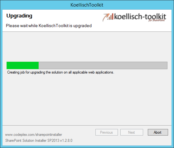 koellisch-toolkit upgrading SharePoint