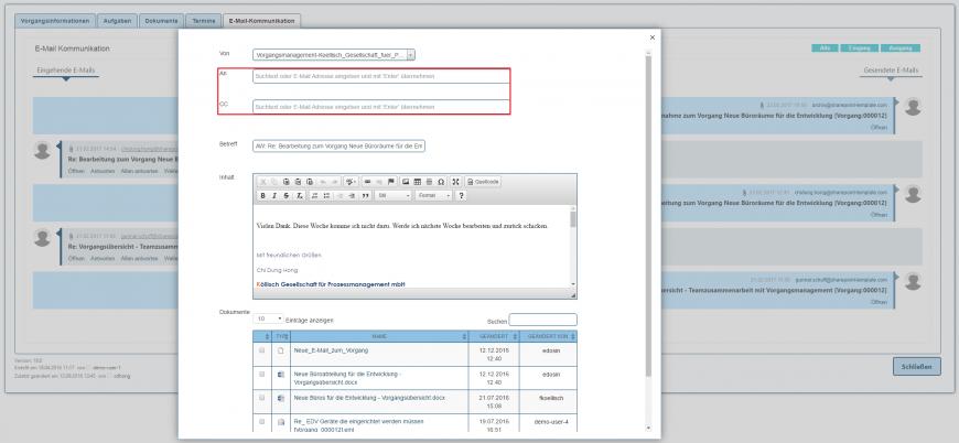 E-Mail Kommunikation E-Mail weiterleiten Client SharePoint